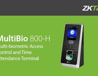 ZKTECO ZK-MULTIBIO800H